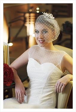 svatební líčení nevěsty